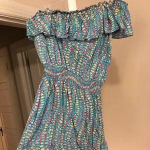 Vintage shell print Lilly Pulitzer dress